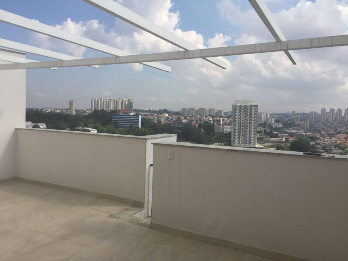 Linda Cobertura Duplex Terraço Privativo e churrasq 2 vagas