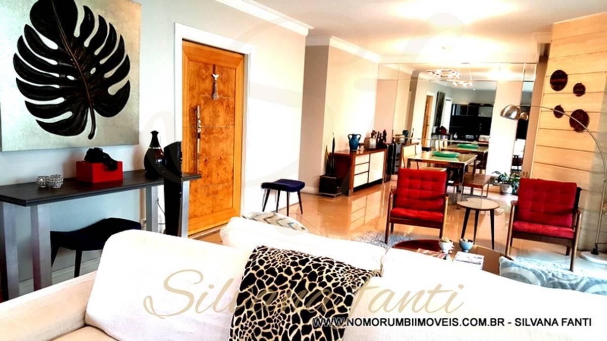 Apartamento no Morumbi com 3 suítes, 193 útil, 4 vagas e depósito.