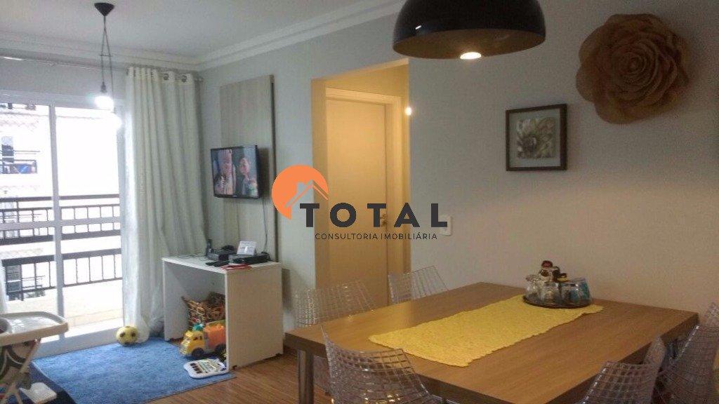 Apartamento com 2 dormitórios e 1 vaga. Vila Assis Brasil - Mauá