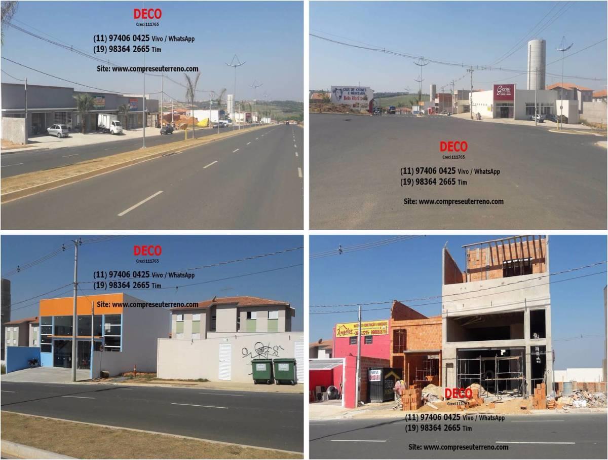 Lotes Comerciais a partir de 150m²  Indaiatuba  Localizados em Avenidas