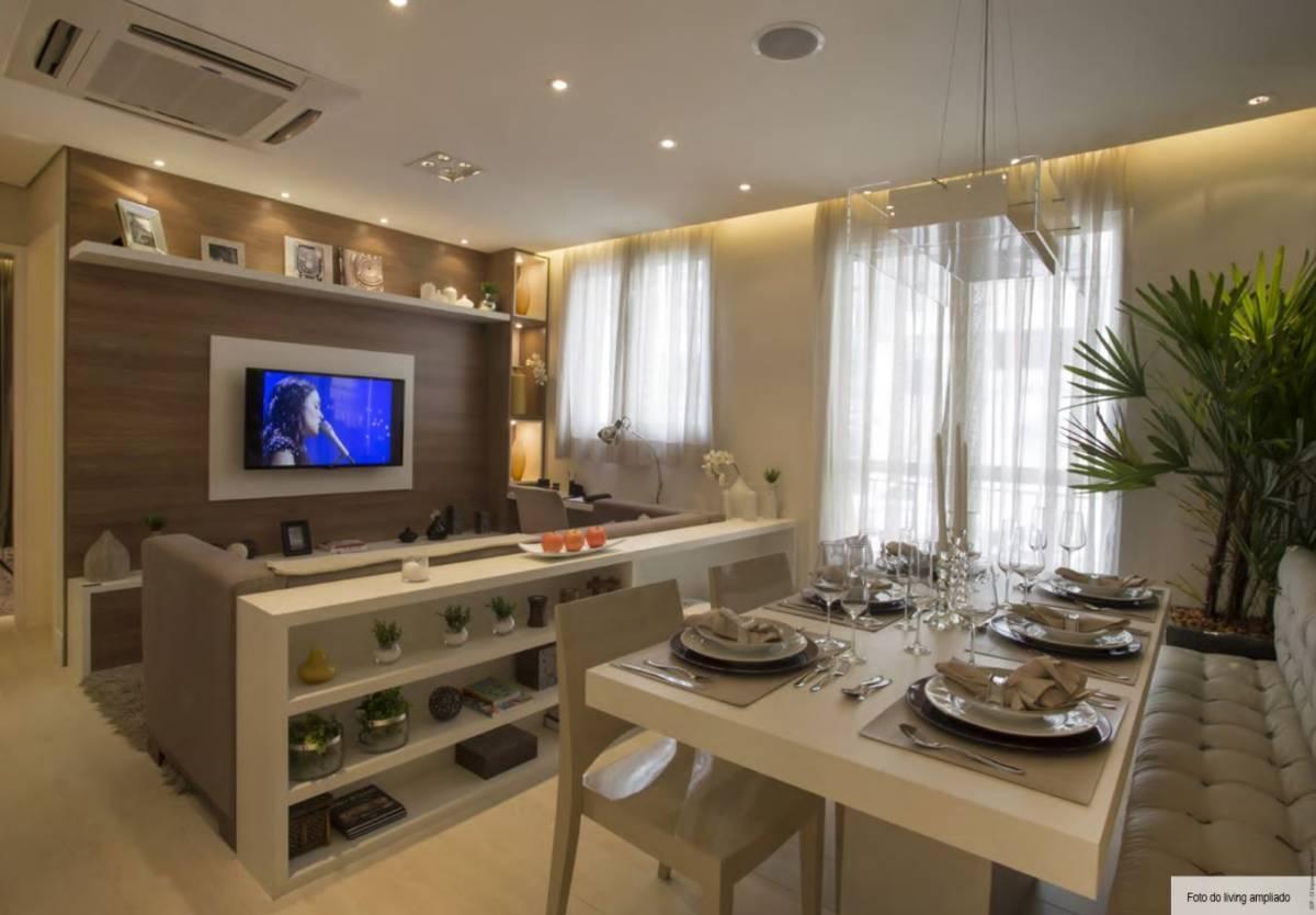 Apartamento Com 46 metros quadrados e 2 quartos em  Santo André - SP.