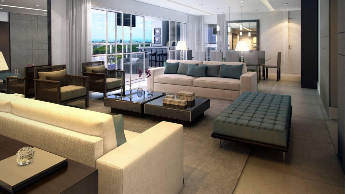 Apartamento para venda possui 258 metros com 3 suítes - Brooklin