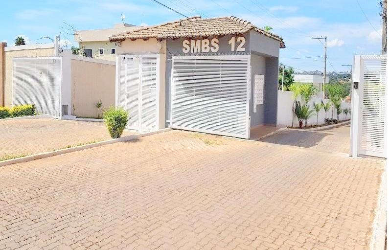 Casa 3 qts/Condomínio Fechado -Lote 400 m²- Chácara 12