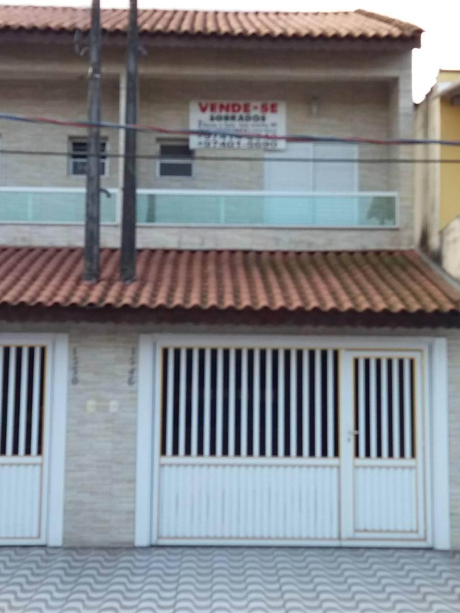 Venda ! Sobrado Novo 2 Suites - Bairro Tude Bastos - Praia Grande/SP