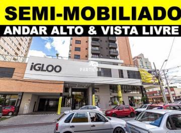 Edifício Igloo - Studio Semi Mobiliado com Vaga,33m²,Água Verde