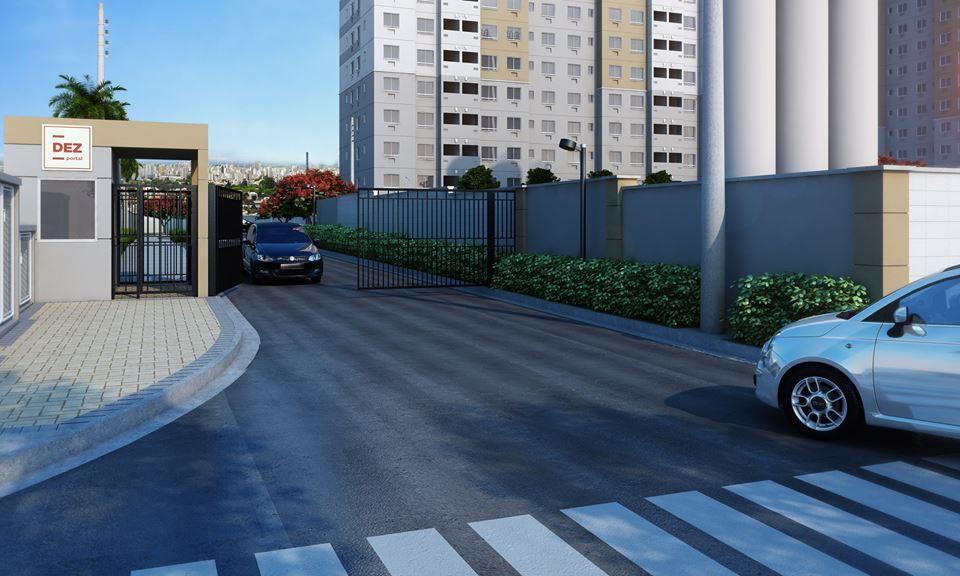 2 quartos ao lado do Carrefour e Dutra- use FGTS - com elevador