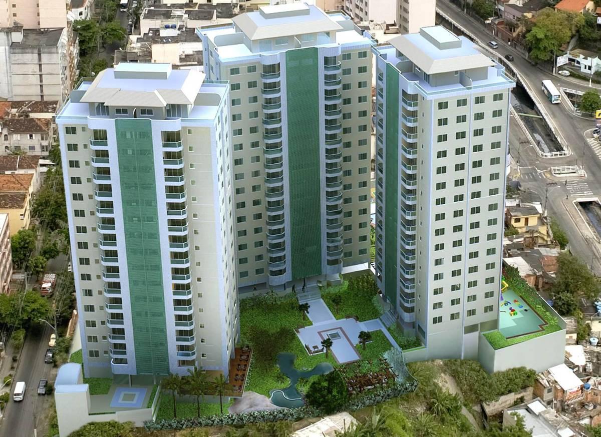 Apartamento de 3 quartos sendo 1 suíte, varanda e 2 vagas