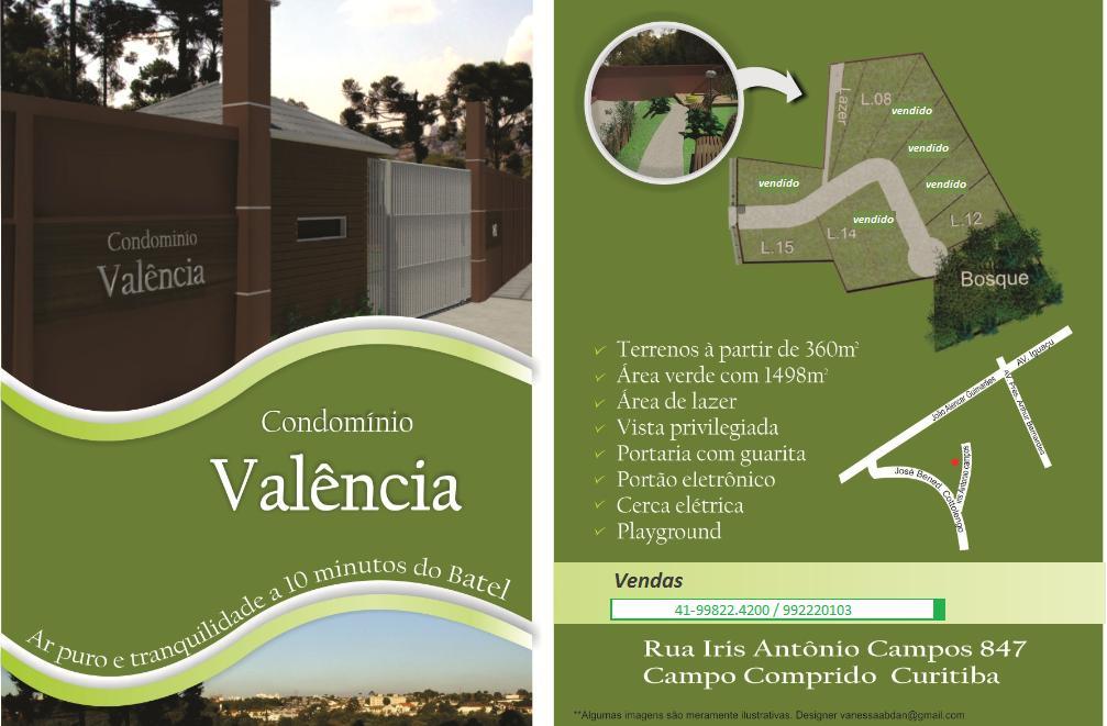 Condomínio VALENCIA - Campo Comprido (Fechado)