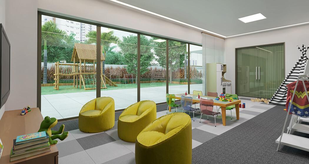 Apartamento em Casa amarela, 164m2, 4 suítes, BWC serviço,área de lazer completo