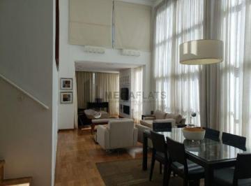 Flat cobertura com dois dormitórios para locação nos Jardins - Estancomfor Villa Jardins