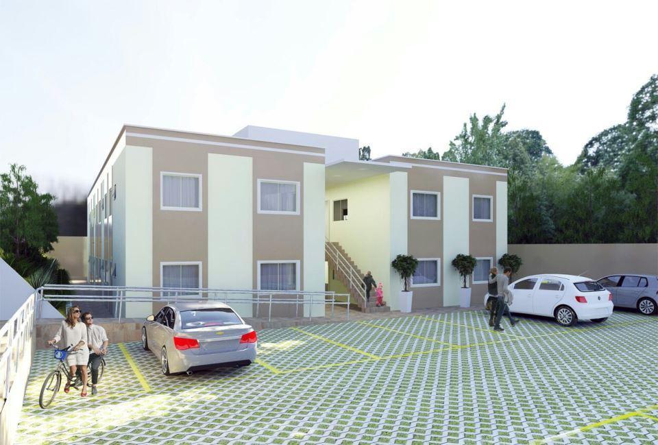 Apartamento de 2 quartos, São Joaquim de Bicas
