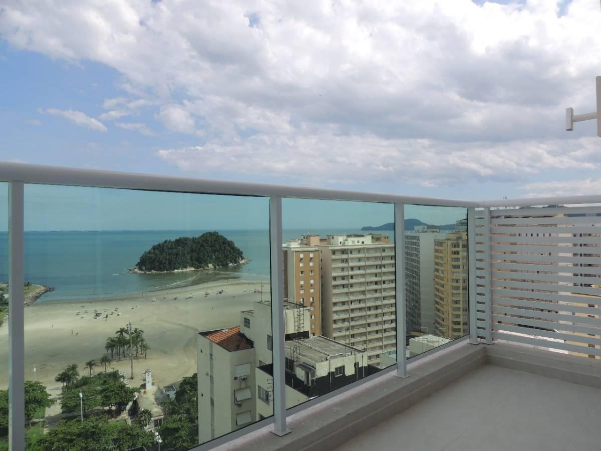 Apartamento vista mar com 2 suítes, duplex e lazer completo!