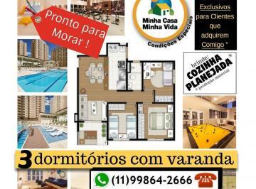 3 dormitórios com varanda em um super condomínio clube ÓTIMO PREÇO