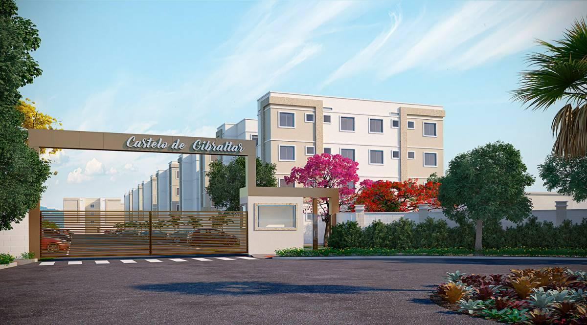 Apartamento em Universitário, Campo Grande - MS | Parque Castelo Gibraltar