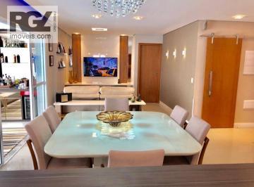 Apartamento com 3 dormitórios à venda, 131 m² por R$  - José Menino - Santos/SP