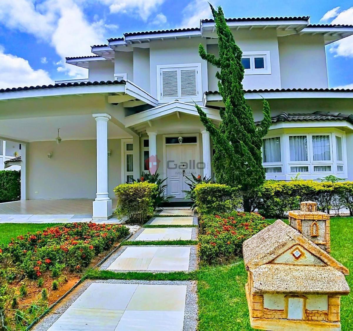 Casa à Venda Com 4 Quartos, Condomínio Vista Alegre