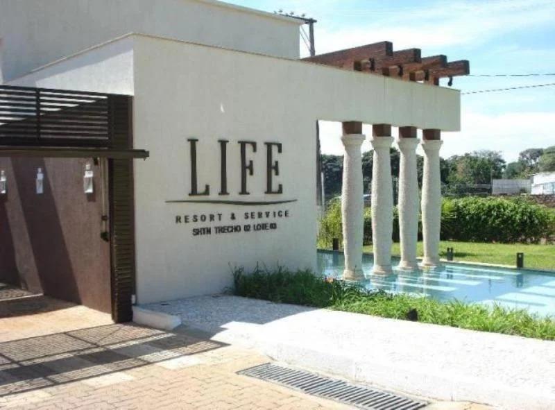 vendo Life Resort 32 m² 1 quarto Nascente vista lateral lago