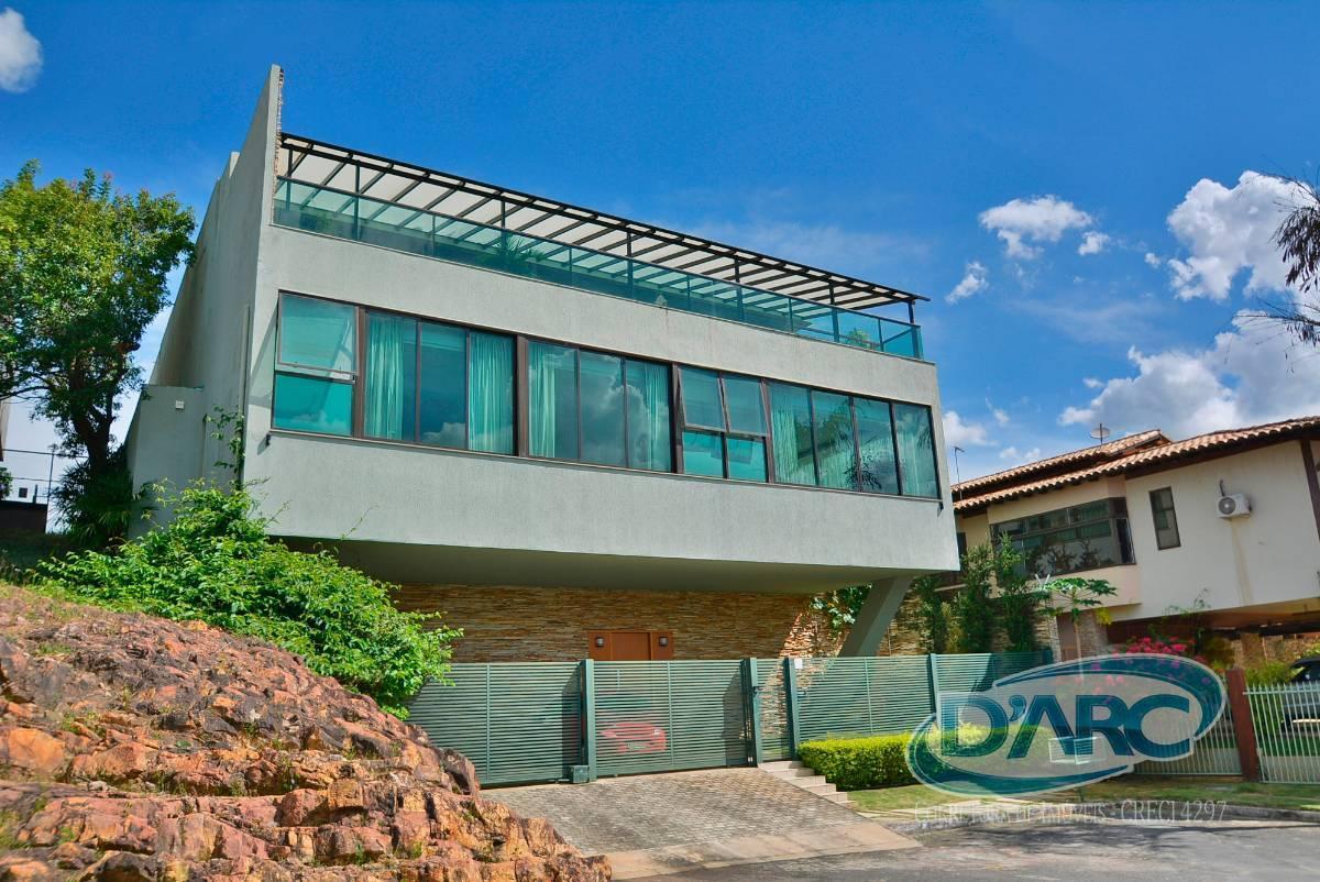 Casa com uma linda vista Mobiliada com 5 suites - Lago Sul - Brasilia - DF