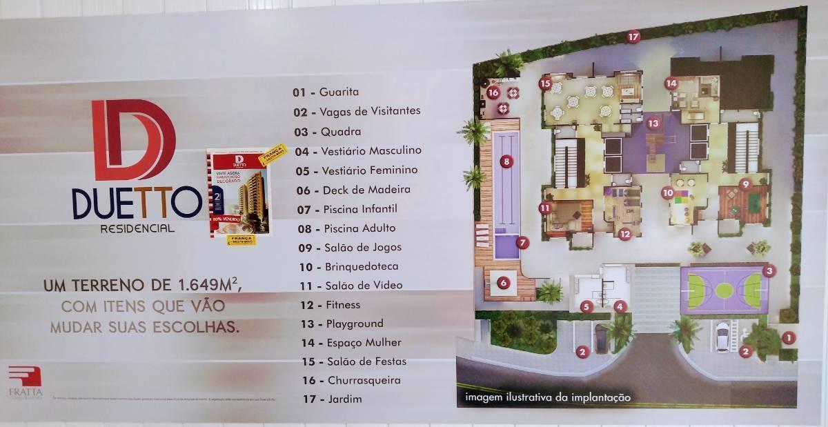 Entrada em 16 vezes SBC - 2 Dorms da Construtora - FRANÇA (11) 99279-8605