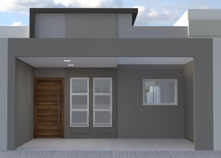 Casa em construção na Vila Furlan em Indaiatuba - SP