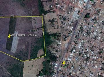 Localização da Área Rural