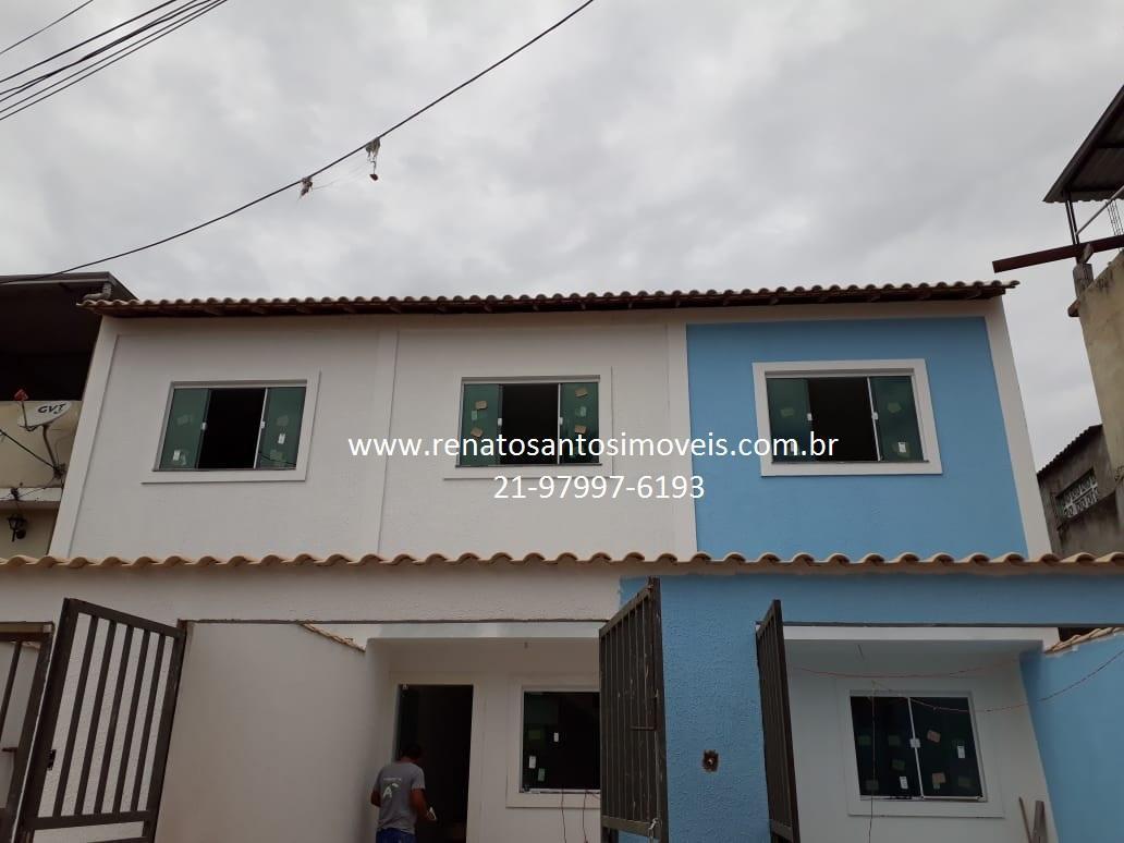 Nilópolis - Casa Duplex Independente com 2 quartos
