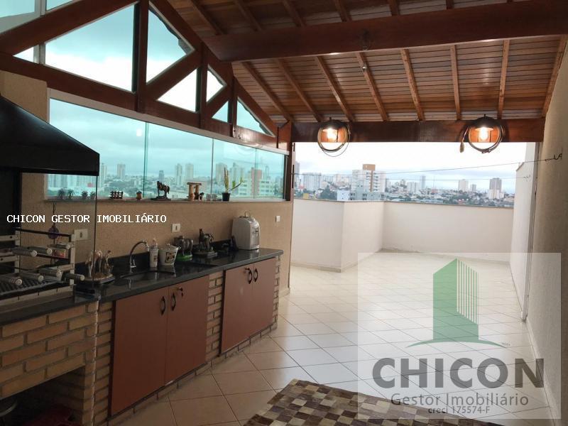Cobertura, 2 vagas, 130 m² 2 dormitórios sendo 1 suíte, Parque Das Nações