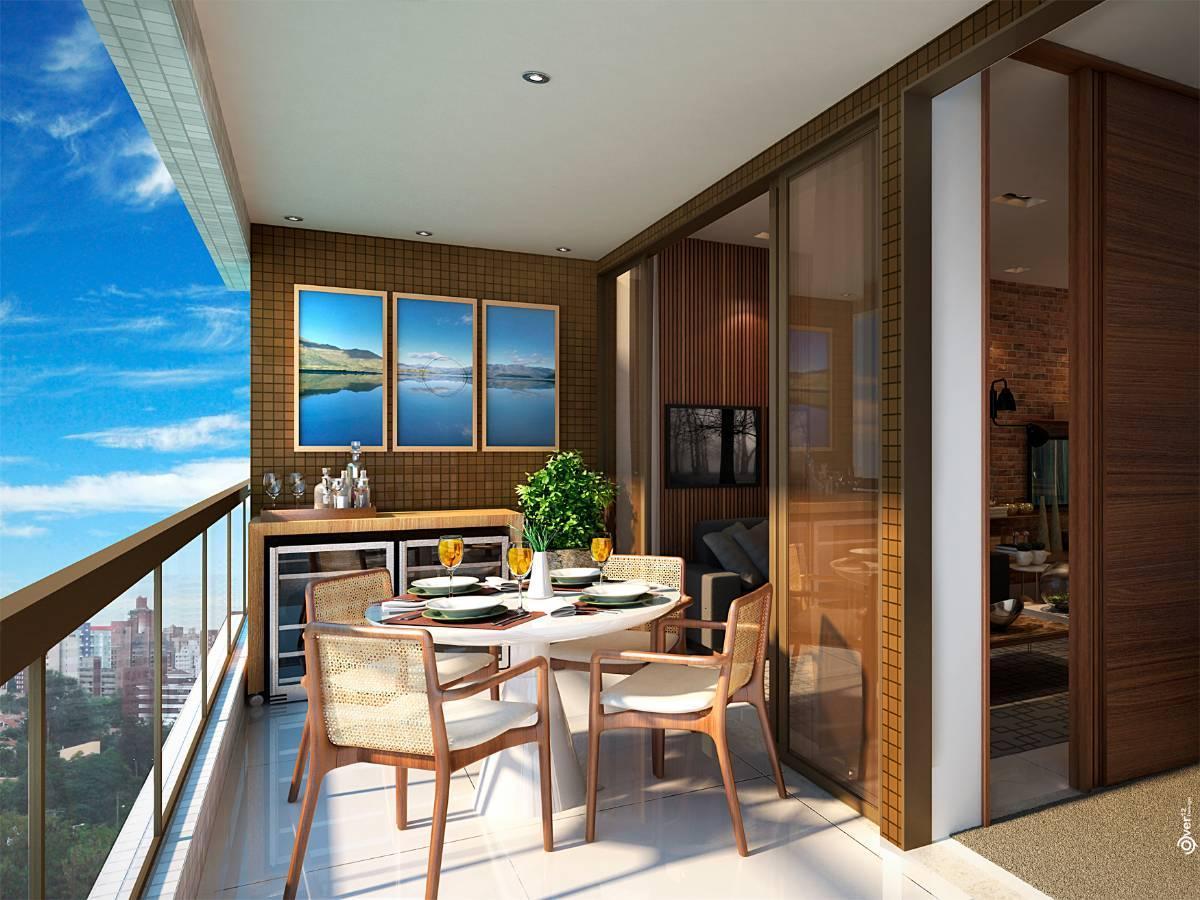Residencial Jazz - Lançamento, 2 quartos com 103m²