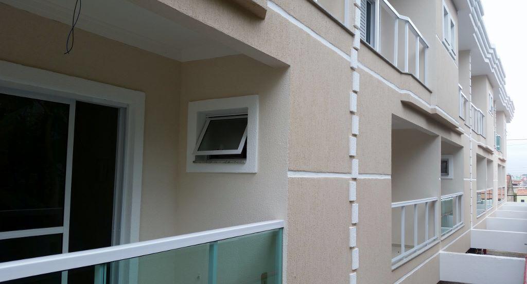 Sobrado em Condomínio Fechado com 127m² com 3 quartos em Vila Pires - Sto André