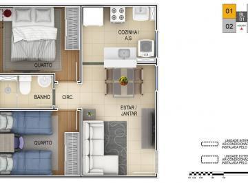 Apartamento de 2 quartos, Cambé