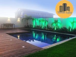 Casa de Alto Luxo em Alphaville 2 Salvador - 4 suítes - Finamente Decorada