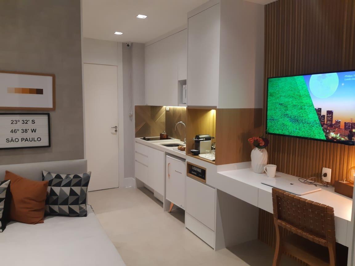 Apartamento a venda de 19 m² e 26 m² 1 quarto na Bela vista proximo ao Metrô