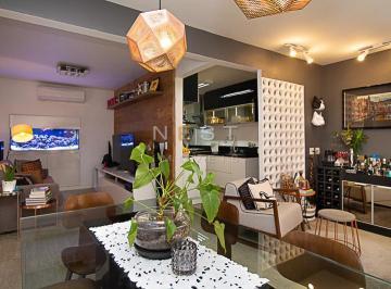 Living com cozinha integrada