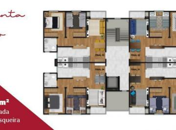 Apartamento de 2 quartos, Pelotas