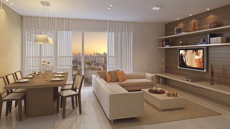 Apartamento 3/4 com suite e varandão gourmet