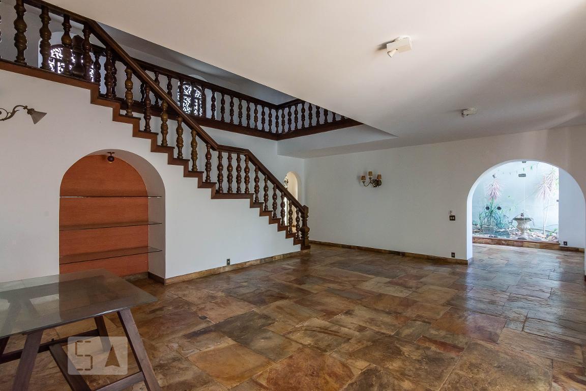 Casa para Aluguel - Mangabeiras, 4 Quartos,  400 m²