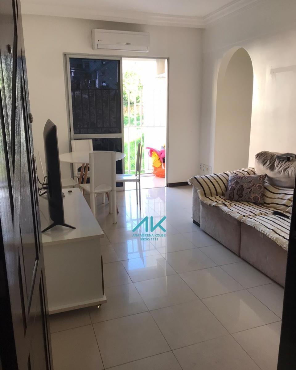Apartamento 2/4, suíte, 67m², Próximo ao metrô do Bonocô