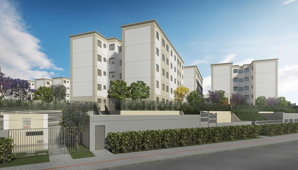 Residencial Casa Branca II - Apartamento 2/4 e sala em Granjas Rurais (MCMV)