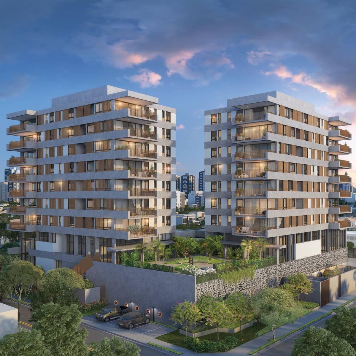 Apartamentos no Campo Belo  - Simmetria