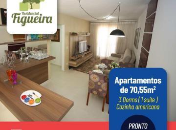 Apartamento de 3 quartos, Piracicaba