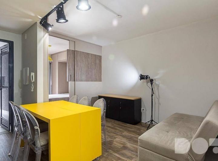 Apartamentos Kitnet Studio Com Varanda Gourmet à Venda Em