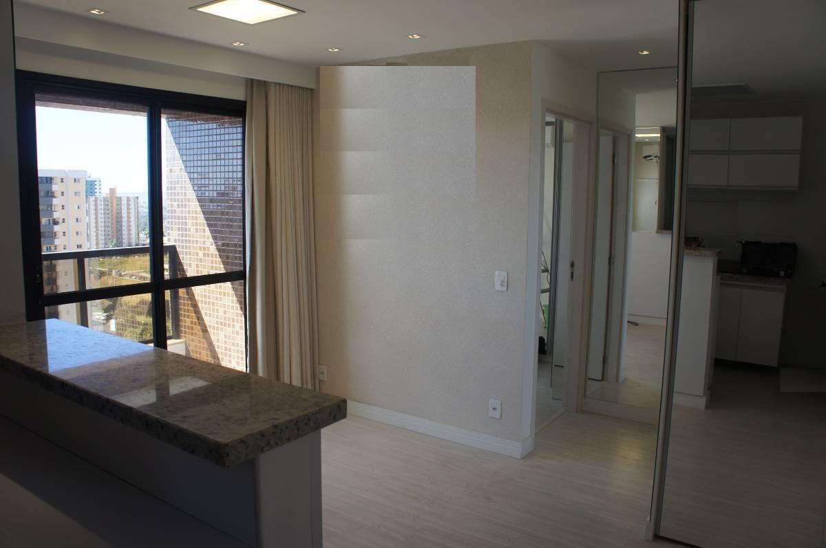 Rua 7 Max Home 1 Quarto 41 m² Reformado Armários lazer Ac FGTS