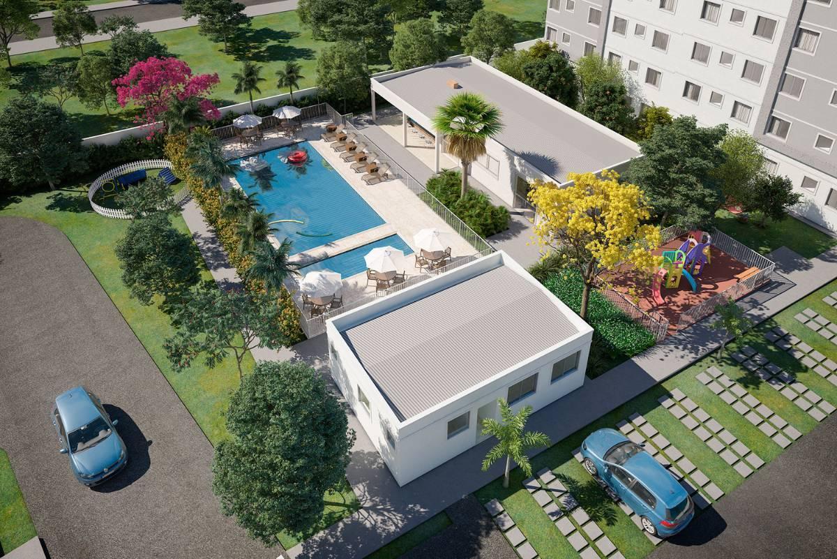 Apartamento no Jardim Leblon, Campo Grande - MS | Castello di Moura