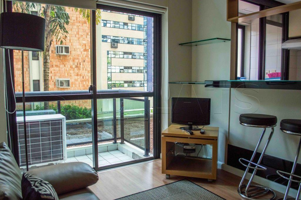 INTERNATIONAL DUPLEX - flat estilo duplex com 2 dormitórios.