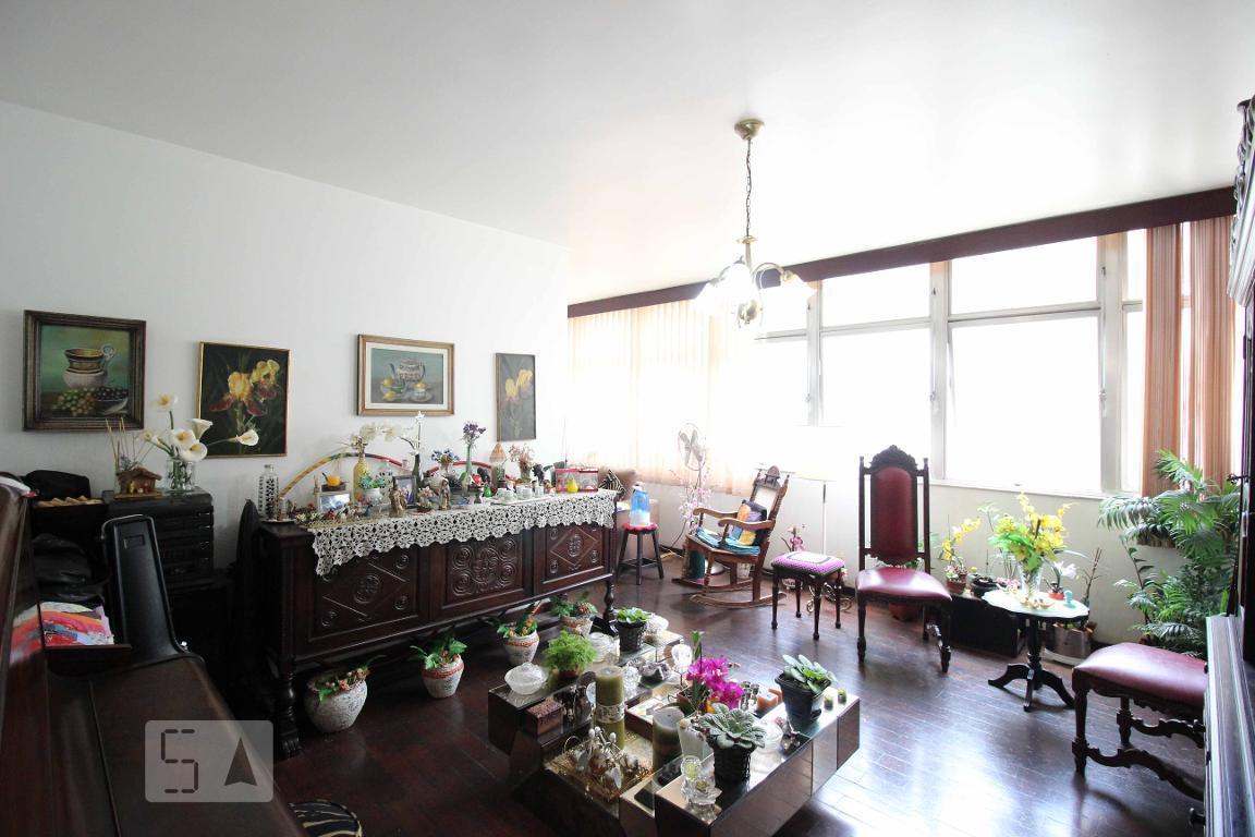 Apartamento para Aluguel - Funcionários, 4 Quartos,  160 m²