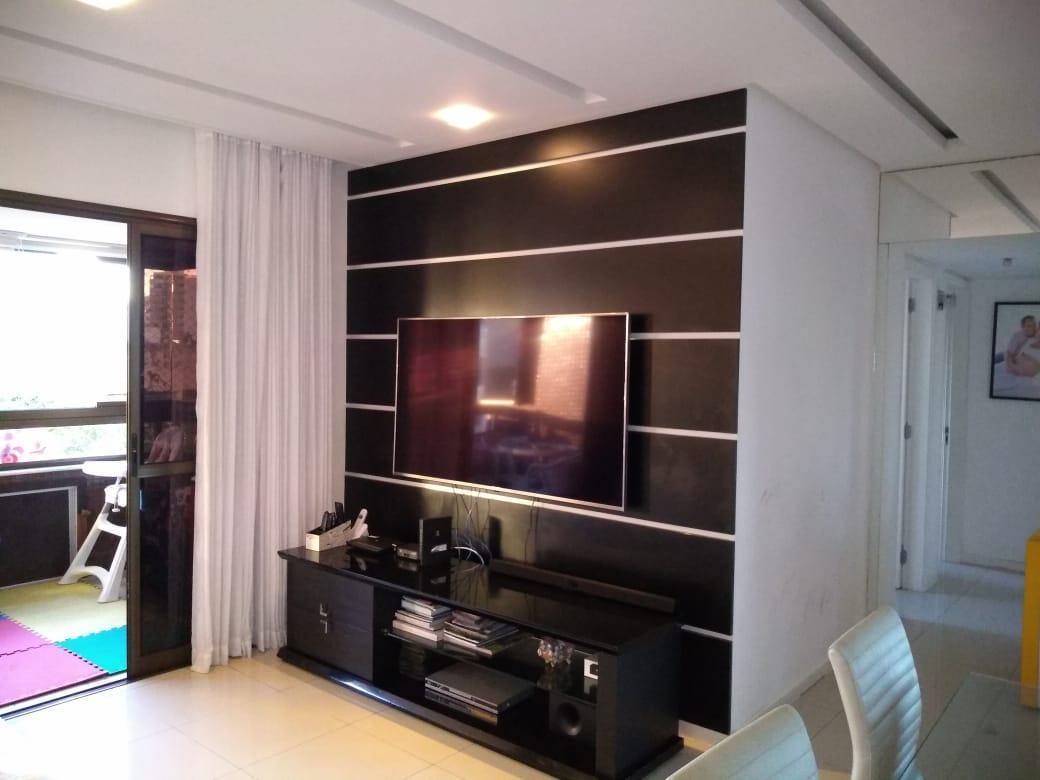 Apartamento à venda, Condomínio Porto Fino, Jardim Apipema, 120 m², 3 quartos.