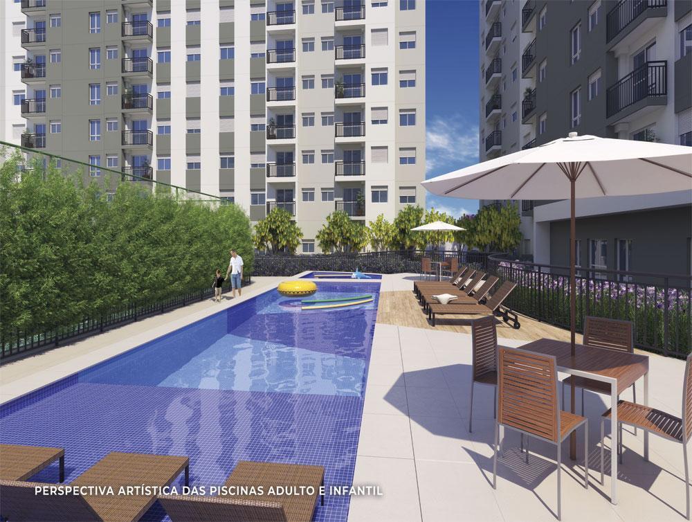Apartamentos 2 Dorms Com Varanda Na Mooca  A partir de 199 Mil Lazer Completo!