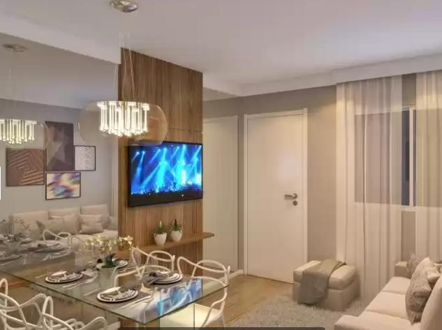Apartamento à venda de 40 m², com 2 dorm, em José Bonifácio, SP