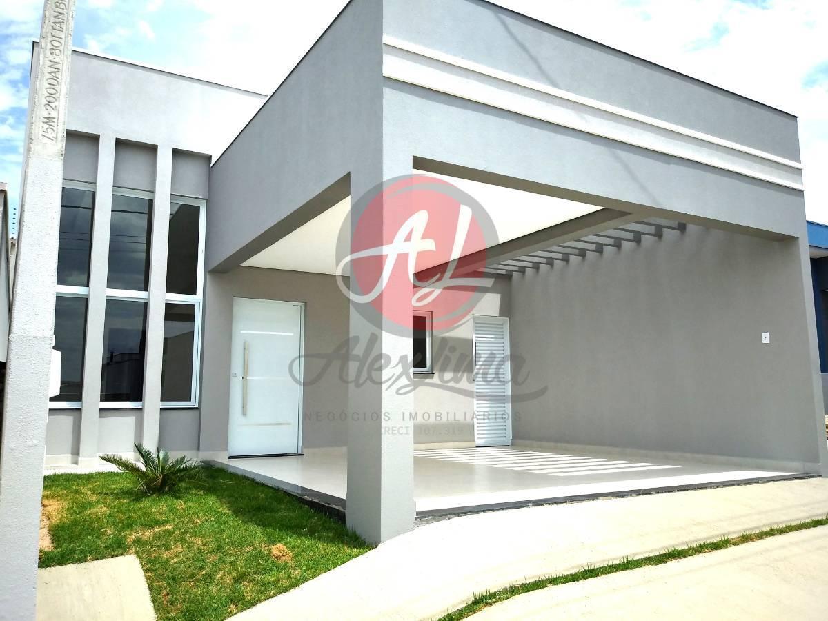 Casa Nova A Venda Condomínio Park Real, Indaiatuba/SP!