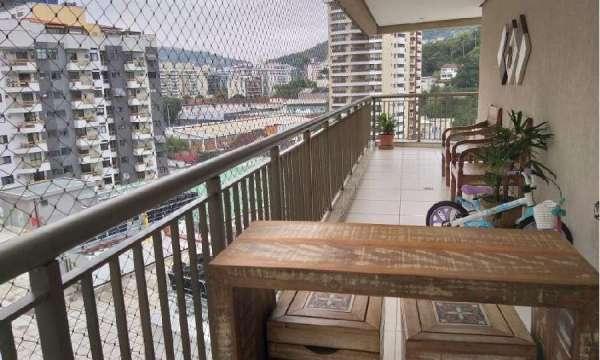 VitalBrazil - Apartamento Montado, 3 quartos, 1 suíte, 1 vaga - Varandão
